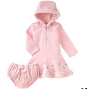 GYMBOREE WINTER PRINCESS 2-PC hoodie  dress sz 3T